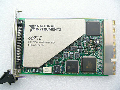 National Instruments NI PXI-6071E 1.25 MS/s Multifunction I/O 64 Inputs Card