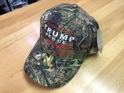 TRUMP PENCE 2016  Donald Trump Hat Republican  Camo Baseball Cap Hat Mossy Oak