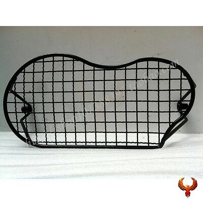 Headlight Mesh Cover Guard Protector Grill Cover For 2005-2012 BMW R1200GS Black