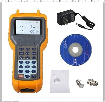 New RY S110 CATV Cable TV Handle Digital Signal Level Meter DB Tester Tool