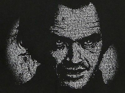 JACK NICHOLSON All Work And No Play Makes Jack A Dull Boy THE SHINING T-shirt M