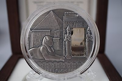 Mint of Poland - IMPERIAL ART 2015 - 2 oz Silver Coin: EGYPT
