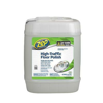 ZEP 5-Gallon High-Traffic Floor Polish Commercial Shine on Tile Wood Vinyl