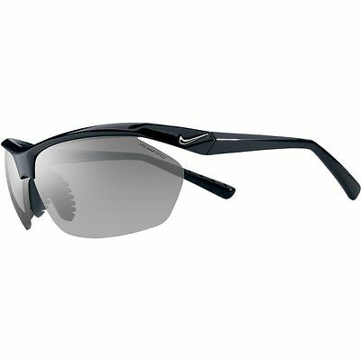NIKE Men's Sunglasses TAILWIND EV0491 MaxOptics Sport Black New w Tag Retail $80