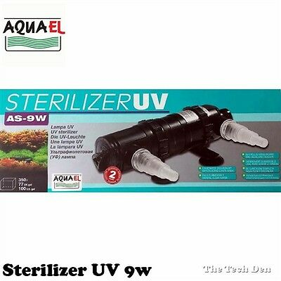 Aquael 9w Sterilizer UV Steriliser