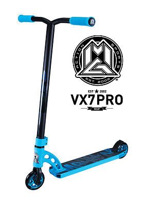 New 2017 Vx7 Madd Gear Mgp Pro Scooter Blue - Free Delivery