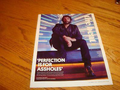 JOSH GROBAN 2016 article 'Perfection Is For A-holes', Jimmy Kimmel & YOUNG M.A.