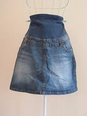"""Size 10 """"Ninth Moon"""" Gorgeous Ladies Blue Denim Maternity Skirt. Great Condition"""