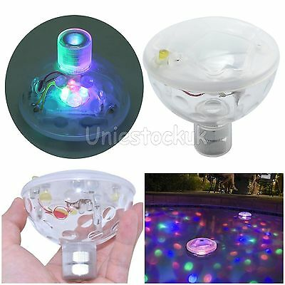 Underwater LED Float Disco Light Swimming Boat Pond Pool Party Waterproof Lamp