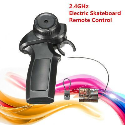 2.4GHz Radio Remote Controller Receiver Transmitter For Electric Skateboard