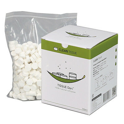 Compressed Coin Tissue 500pcs/box Dry Baby Towel Disposable Wet Wipes