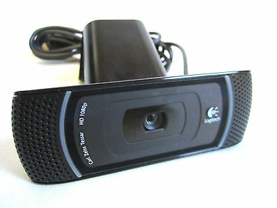 Logitech B910HD OEM  Webcam USB Camera Office Windows. Model V-U0021