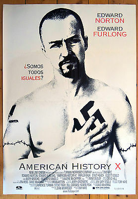 American History X 1998 Original One Sheet Film Poster