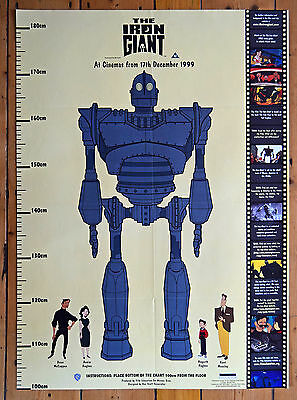 The Iron Giant 1999 Film Poster SUPER RARE