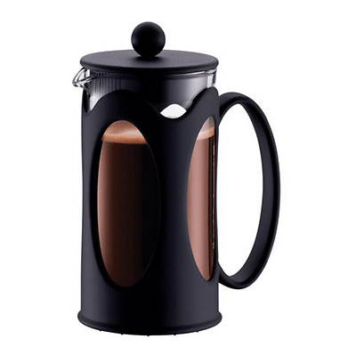 Cup Coffee Plunger Press Bodum 3 Cup French Maker Filter Cafe Glass 350ml New