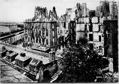 35 SAINT MALO - ruines place chateaubriand