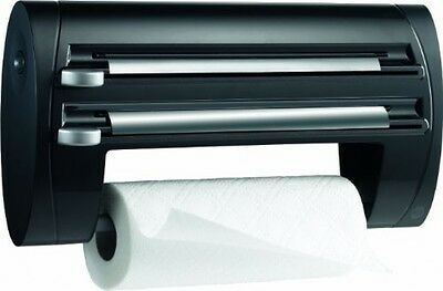 Wall Mounted Superline 3 in 1 kitchen roll / foil / cling film dispenser Towel
