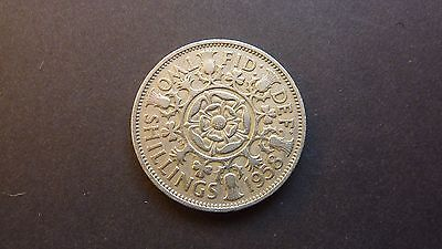 1958 Florin/two shilling coin
