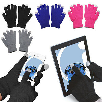 """Unisex TouchTip TouchScreen Winter Gloves For Alba 5"""" Inch 3G Mobile Phone"""