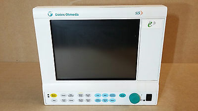 GE DATEX-OHMEDA D-LCC10A PATIENT MONITOR DISPLAY SCREEN For Anesthesia Machine