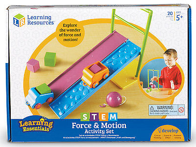 Learning Resources STEM - Force and Motion Activity Set - NEW