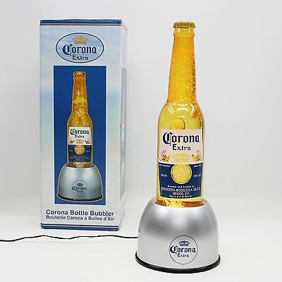 """Corona Extra Beer 20"""" Bottle Bubbler Light Up Motion Sign Display Bubble Lamp"""