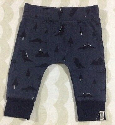 Cotton On Baby Boys Dinosaur Pants 3-6 Months 00