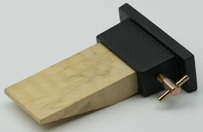 Pro Jewellers Wooden Bench Pin with Metal Holder Peg Hardwood Jewellery File NEW
