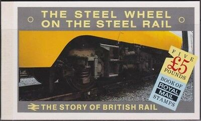 GREAT BRITAIN QEII 1986 British Rail Booklet Scott BK150  Never Hinged Complete