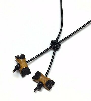 Boy Scout Souvenir HAND MADE Phone/Key Strap Woodbadge 2 Beads Item No.: TH08_2