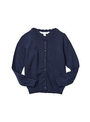 Girls Pumpkin Patch Carly Rose cardigan Navy Size 6,7,8 & 11 & 12