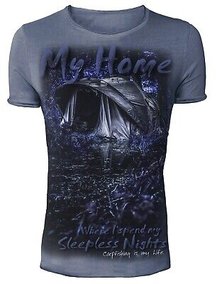 Hotspot Design Angler T-Shirt My Home - Collection Vintage