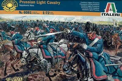 Prussian Light Cavalry - Napoleonic War - 1:72 - Italeri 6081