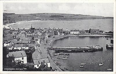 General View Over Harbour & Bay, STONEHAVEN, Kincardineshire