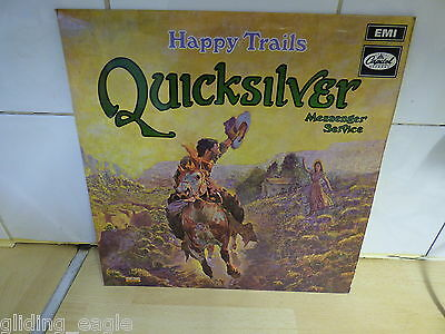 Quicksilver Messenger Service Lp Happy Trails Capitol 1969
