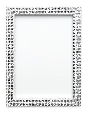 Flat Bright Mirror effect  Mosaic Picture Photo Poster frame A4 A3  Silver