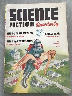 Science Fiction Quarterly #3 Vintage 1950's May 1954 Pulp Magazine