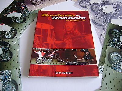 Led Zeppelin 'Out of Print' an original JOHN BONHAM book written by his brother