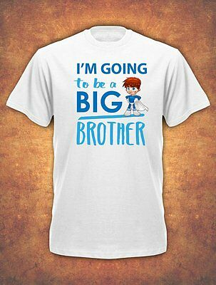 I'm going to be a Big Brother Birthday Present Childrens  T-shirt kids