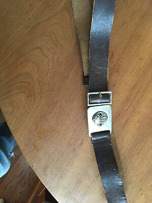 Boy SCOUT LEADER BELT HARDLY WORN 1957  Scouts England