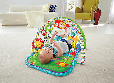 Baby Musical Activity Gym Play Mat Infant Sport Educational Toy Stimulate Senses