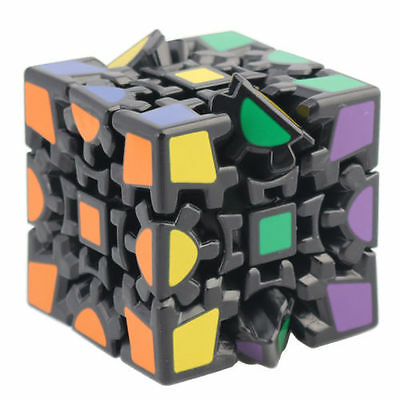 New Gearwheel 6 sides Rubik Cube Magic Combination 3D Gear Cube Speed Puzzle