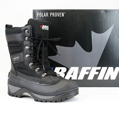 --NEW-- Baffin Crossfire Winter Snowmobile Boots Men's Size 12 Black --NEW--