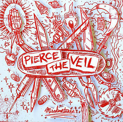 Parche imprimido /Iron on patch, Back patch, Espaldera/- Pierce the veil, C