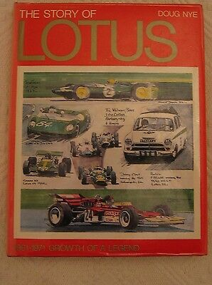 The Story of Lotus - 1961 to 1971 Growth of a Legend