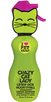 Pet Head Crazy Cat Lady Spray 175Ml Straw/lemon