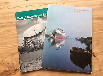 Two Port Of Manchester Annual Review Magazines (1967 and 1971)