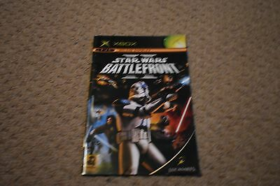 Star Wars Battlefront Ii 2 Manual Only Xbox Manual Instruction Booklet