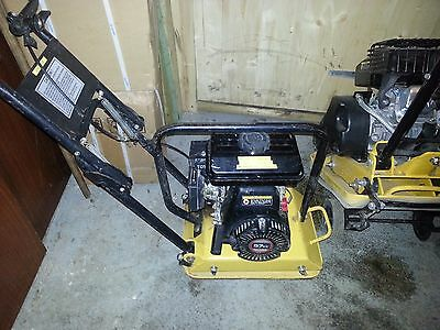 wacker plate, petrol compactor small enough for 1 person lift price includes VAT