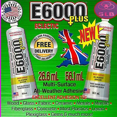 E6000 Glue Industrial Strength Multipurpose Jewellery Crystal Craft & Rhinestone